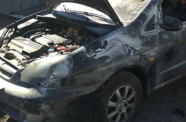 В столице за выходные сгорели четыре машины