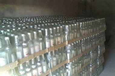 Под Киевом милиция изъяла контрафактный алкоголь на 300 тысяч гривен
