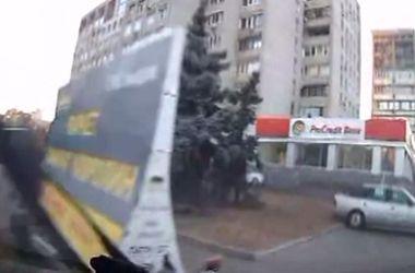 В Сети опубликовали видео погони днепропетровских милиционеров за одесситами