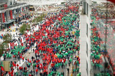 """В """"столице"""" Евросоюза – 100-тысячный митинг"""
