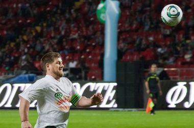 Кадыров забил гол в честь дня рождения Путина