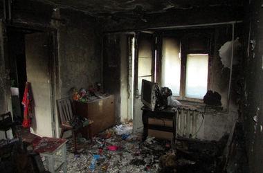 На Донбассе маленькие дети погибли в огне