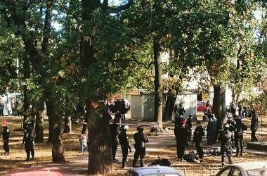 Подробности стрельбы на Святошино: милиция ловила банду рэкетиров