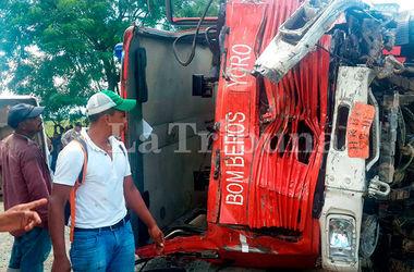 Жуткая авария унесла массу жизней: пожарная машина протаранила пассажирский автобус