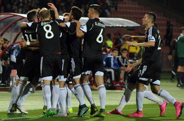 Сборная Албании впервые пробилась на чемпионат Европы