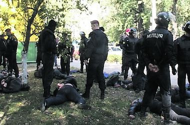 В Киеве милиция задержала банду вымогателей из 20 человек