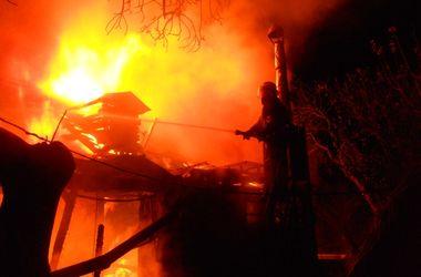 В пожаре под Киевом погибла женщина
