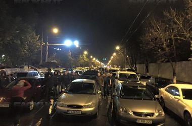 Демонстранты заблокировали центр Кишинева