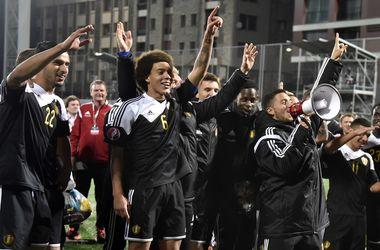Сборная Бельгии впервые может возглавить рейтинг ФИФА