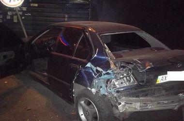 В Харькове пьяный лихач растрощил 4 авто