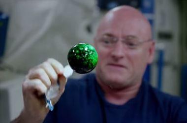 На орбитальной станции провели красивый эксперимент