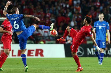 Сборная Турции вышла на Евро-2016, как лучшая третья команда