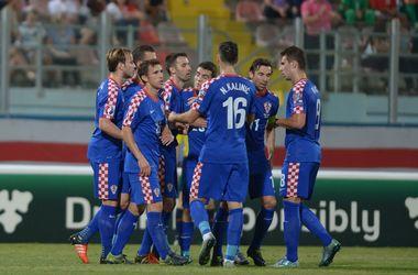 Сборная Хорватии вышла на Евро-2016
