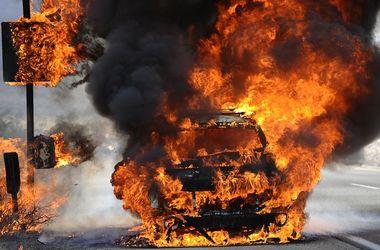 Зверское убийство: участника ДТП сожгли вместе с машиной