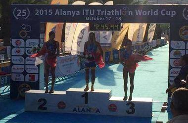 Украинка Юлия  Елистратова выиграла этап Кубка мира по триатлонуУкраинка Юлия  Елистратова выиграла этап Кубка мира по триатлону
