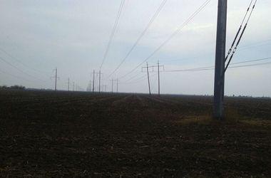 На границе Крыма взорвали еще одну электроопору