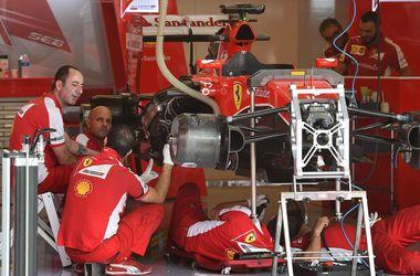 """""""Феррари"""" наказано потерей 10 позиций на старте Гран-при США"""