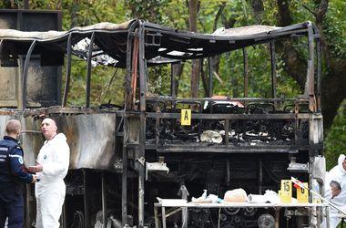 В сети появились первые фото ДТП, в котором сгорели 43 француза