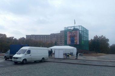 Харьковские активисты из-за выборов проведут ночь на улице