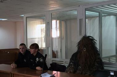 """В Одессе Чубакка предстал перед судом: """"попал"""" на 170 гривен"""