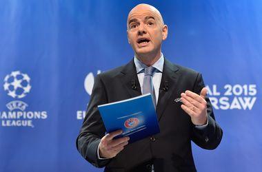 Генеральный секретарь УЕФА Джанни Инфантино будет участвовать в выборах главы ФИФА
