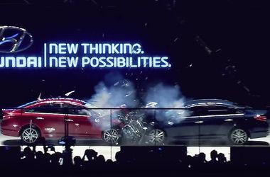 Компания Hyundai провела необычный краш-тест