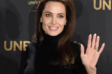 Худощавая Анджелина Джоли засветила нижнее белье (фото)