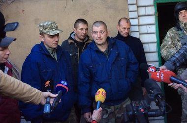 Стали известны имена освобожденных на Донбассе пленных