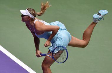 Первая красавица итогового турнира WTA Шарапова обыграла Пеннетту