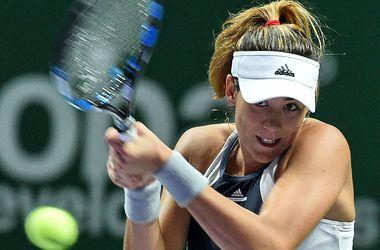Гарбинье Мугуруса повторила достижение Квитовой среди дебютанток Итогового турнира WTA