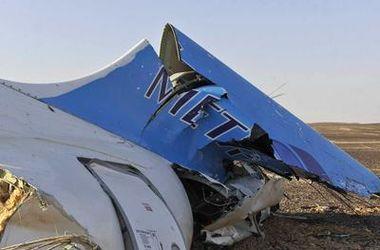 Обнародовано первое видео с места падения российского самолета в Египте