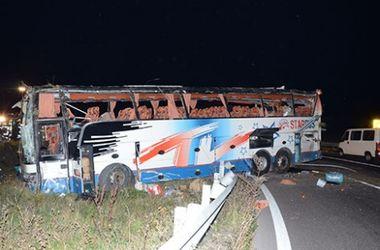 В Австрии попал в аварию автобус с украинскими номерами
