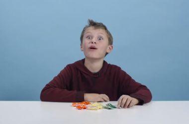 Видеохит: как дети из США реагируют на украинские конфеты