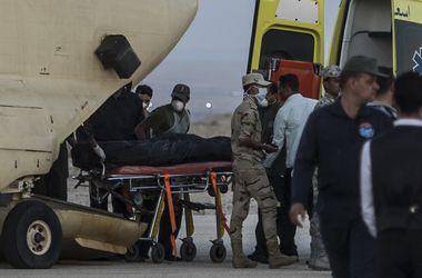 Второй самолет с останками жертв авиакатастрофы в Египте вылетел в Санкт-Петербург