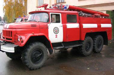 В Киеве горит детская больница, началась эвакуация