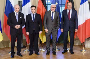 """Переговоры министров """"нормандской четверки"""" в Берлине: повестка дня, позиции сторон и прогнозы экпертов"""