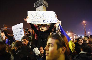 Около 20 тысяч человек снова вышли на улицы Бухареста