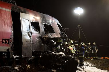В Германии произошла страшная катастрофа на железной дороге