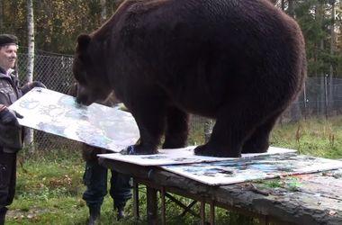 Одним из самых успешных художников Финляндии оказался медведь