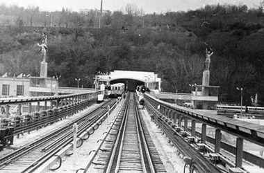 Киевскому метрополитену исполнилось 55 лет