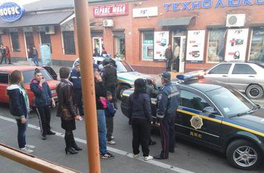 В центре Измаила пьяные цыгане избили водителя