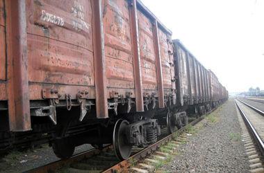 В Донецкой области преступники разобрали железнодорожный состав на металлолом