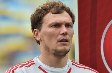 Андрей Пятов может пропустить первый матч сборной Украины против Словении в плей-офф Евро-2016