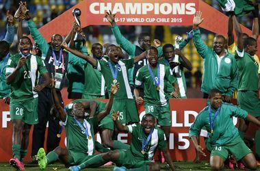 Сборная Нигерии выиграла юношеский чемпионат мира