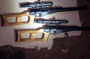 В Харьков из России везли снайперские винтовки и гранатометы