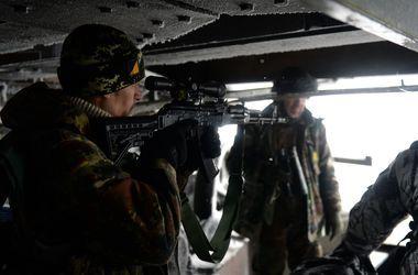 Боевики обстреляли позиции украинских военных в районе Донецкого аэропорта