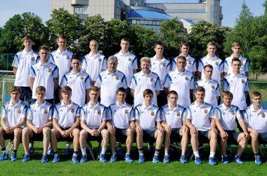 Юношеская сборная Украины разгромила Азербайджан