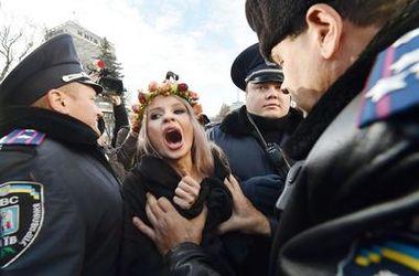 В FEMEN произошел раскол