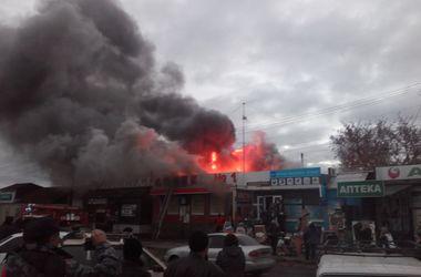 Аптека и магазин горели в Харьковской области
