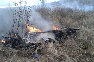 Появились первые фото и новые противоречивые факты о разбившемся под Запорожьем Су-25